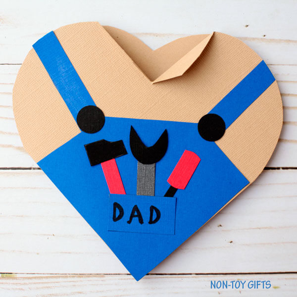 Beautiful and easy Father's day card idea