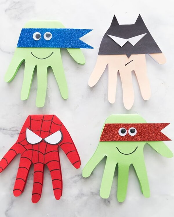 Father's Day Superhero Craft