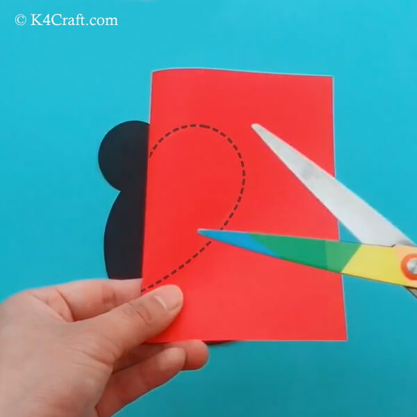 Paper Mickey Mouse Craft for Kids – Step by Step