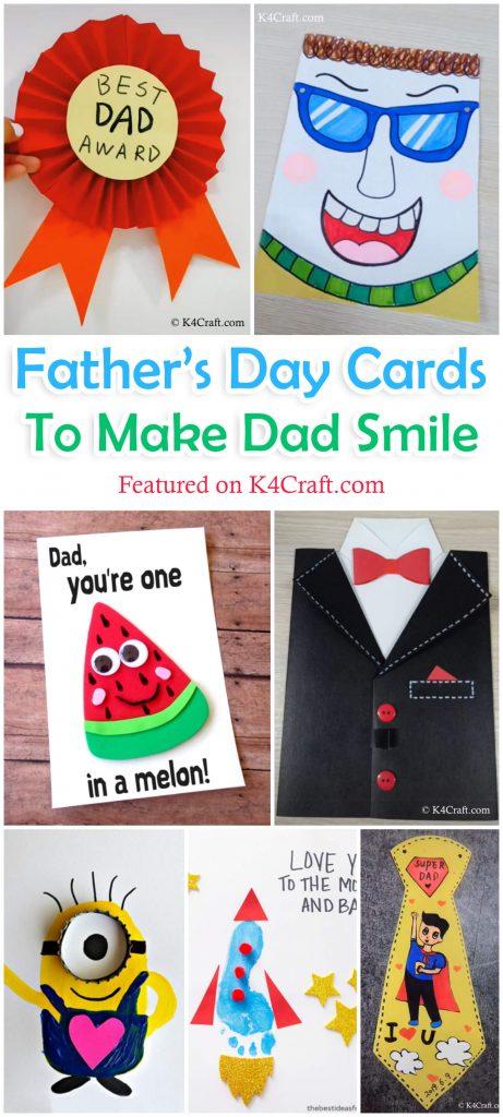 Handmade Dad Happy Birthday Quote Scrabble Tile Card