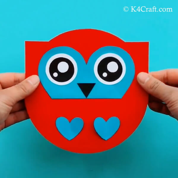 Paper Owl Craft - Step by Step Tutorial