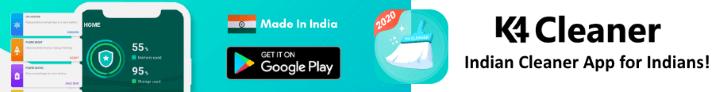 K4 Cleaner App