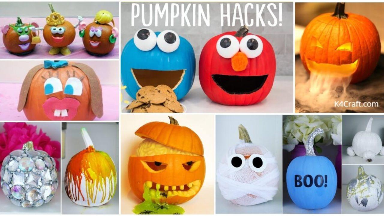 Halloween Pumpkin Decorating Ideas For Kids K4 Craft