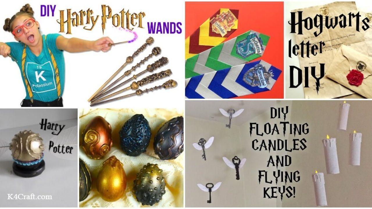 8 Harry Potter Craft Activities Anyone Can Do K4 Craft