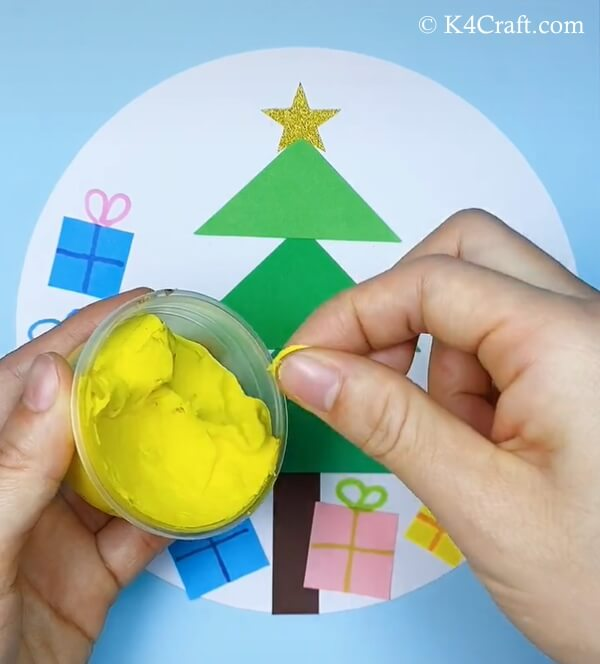 paper christmas tree craft for kids 9