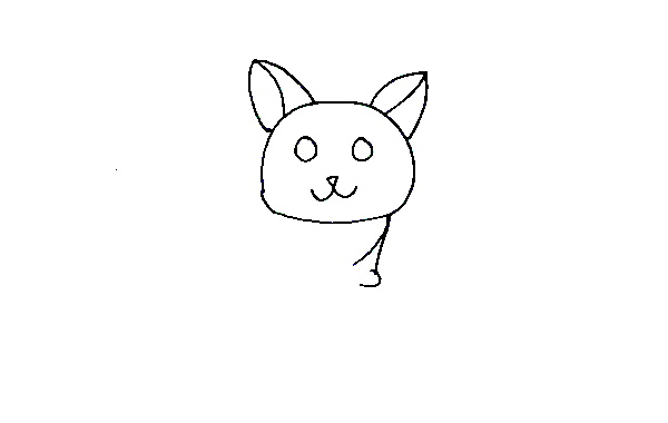 How to Draw a Cat for Kids - Easy Step by Step Tutorial